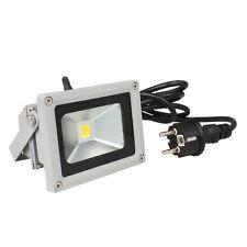 "10W LED Fluter ""CTF-10W"" 230V 850lm Flutlicht Außen-Leuchte Strahler Lampe"