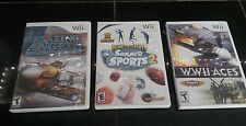 Wii Game Lot of 3