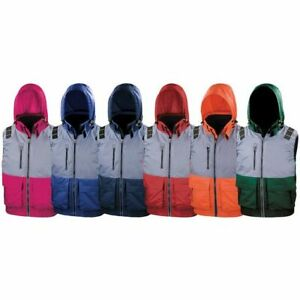 x-over microfleece lined gilet in 6 great colours xsm-4xl - sale