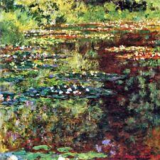 'Stagno di Waterlily quadro - Stampa d''arte su tela telaio in legno'