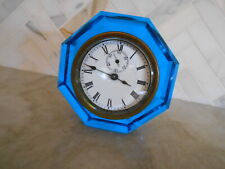 New ListingE.N. Welch Time and Strike Paperweight Clock, Blue