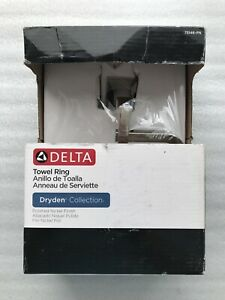 Delta Dryden Open Towel Ring in Polished Nickel #75146-PN BRAND NEW!