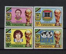 Tanzania 1982 SG#346-9 World Cup Football MNH Set