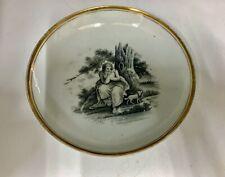 Antique Regency Period Porcelain Saucer circa 1815
