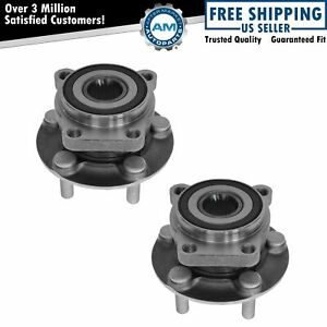 Pair Front Wheel Hub Bearing Assembly for Subaru Impreza Forester Legacy Outback