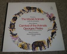 Poulenc Model Animals Saint-Saens Carnival Of The Animals Pretre~FAST SHIPPING!
