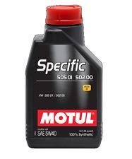 MOTUL OLIO SPECIFIC 505 01 502 00 5W-40 C3 LUBRIFICANTE MOTORE VW FORD 1 LT PER