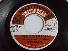 Marvin Gaye Stubborn Kind Of Fellow / Hitch Hike 45 Motown Vinyl Record