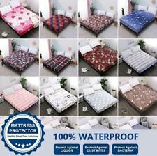 Waterproof Mattress Protector Cover Fitted Sheet Hypoallergenic Insect-resistant