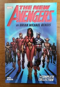 New Avengers Complete Collection Brian Bendis Vol 1 Marvel TPB GN OOP NEW UNREAD
