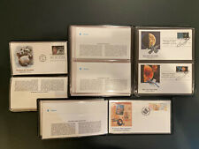 United States First Day Cover Sets 1988 New Sweden,  Space Exploration, Cats