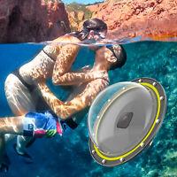 Für GoPro Hero 8 Diving Dome Port Unterwassergehäuse Objektivdeckel Case Zubehör