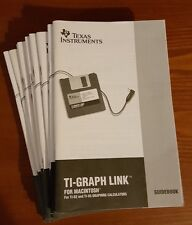 12 TI-Graph link for Macintosh Guidebooks (guides only)