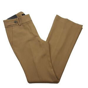 NEW $98 Ann Taylor Women's Size 6 DEVIN Flare Dress Pants, Tan, Inseam 32 in