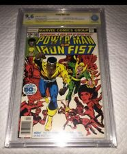 Power Man #50 Origin Of Power Man Luke Cage CBCS 9.6 SS Signed Chris Claremont
