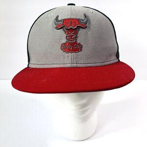 Hardwood Classics New Era Windy City Chicago Bulls Youth Snapback Hat OSFM