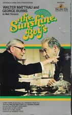The Sunshine Boys VHS 1975 Big Box Original Video Walter Matthau George Burns PG