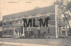 Alexandria Louisiana Sanitarium Vintage Postcard AA43374