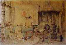 Anton Pieck 3 Wise Men Decoupage Art Print Wood Plaque We 3 Kings Xmas