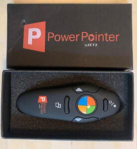 PowerPoint Presentation Clicker, USB Wireless Presenter Remote with Lazer Pointe