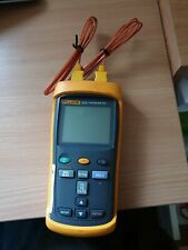 FLUKE 52 ii Dual Digital Thermometer With 2 probes