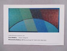 Tony Robbin Art Gallery Exhibit PRINT AD - 1977