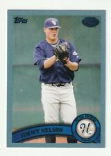 Jimmy Nelson 2011 Topps Pro Debut Blue 118/309 Helena Brewers