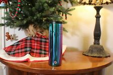 Starbucks Holiday 2020 Stainless Steel Vacuum Insulated Iridescent Tumbler RARE