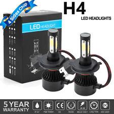 300000lm 2000W 4-Side CREE LED Headlight Kits H4 9003 HB2 Hi/Low Beam 6000K Bulb