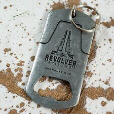 Revolver Brewing Company Granbury Tx Texas Beer Bottle Opener Keychain Key Ring