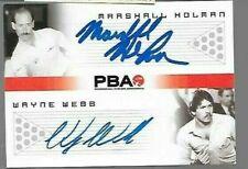 Marshall Holman + Wayne Webb PBA dual autograph by Rittenhouse