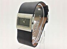 PLAYBOY Damenuhr Damen Armbanduhr Lederband schwarz 31089