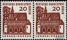 Berlin (West) 244 waagerechtes Paar postfrisch 1964 Bauwerke