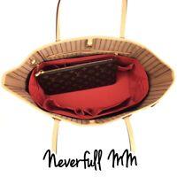 Neverfull MM LV Bag Organizer Insert  Base Shaper Red, Beige,Brown,Black Color