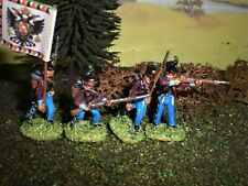 Painted Austrian 12th Grenzer.  Scale 1:72.