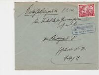 germany 1934 wagners opera stamps cover ref 20084