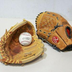 Rawlings Baseball Gloves OR410 / RMP48 + Rawlings DLB3 Baseball - 232