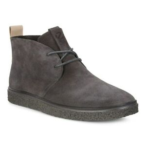 ECCO Crepetray Desert Boots Mens UK Size 11 Grey Suede Chukka Style Shoes BNIB