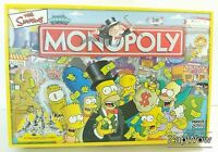 SIMPSONS EDITION MONOPOLY 2003 Springfield Property Trading Game Parker 2000s