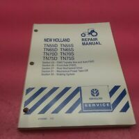 NEW HOLLAND TRACTOR REPAIR MANUAL TN55D/S TN 65D/S TN70/S TN75D/S *BELOW*(LT338)