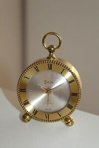 Kleine Elegante Swiza 8 Tage Uhr / Gehäuse ohne Uhrwerk an Bastler Nr.8544