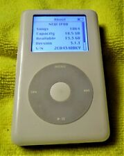Apple iPod classic 4th Gen White (20 Gb) Mp 102 Good Cond 1864 Songs On It !