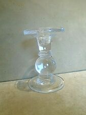 Vintage Glass Candlestick. VGC