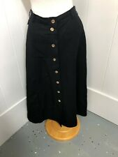 Escada Sport Women's Black Skirt Size Medium H04