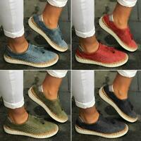 Women Tassel Slip On Loafers Summer Flat Breathable Canvas Casual Shoes Sneakers