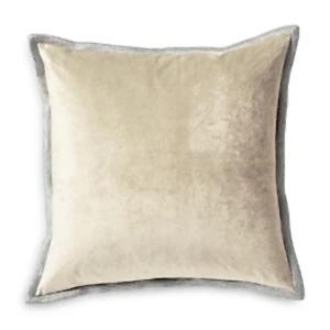 Michael Aram Velvet Metallic Embroidered Decorative Pillow, 18 X 18