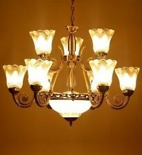 Antique Chandelier With 9 Portuguese Style Lamps+1Handi For Ceiling-Dreamzdecor