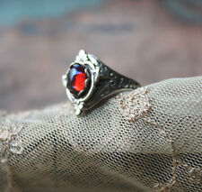 Fire Opal Ring the Enchanted Forest design Ooak Dragon's breath Graduation gift