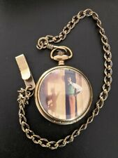 More details for walt disney with mickey mouse shadow box limited edition pocket watch