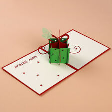 Handmade Hollow Candy Butterfly Blessing Card 3D Greeting Cards F3